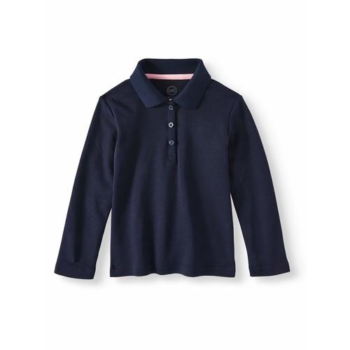 Oshkosh NWT Girls Size 6//6X School Uniform Polo Shirt Short Sleeve Pink Stretch