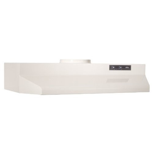 36-Inch Broan 433622 ADA Capable 4-Way Convertible Under-Cabinet Range Hood Bisque