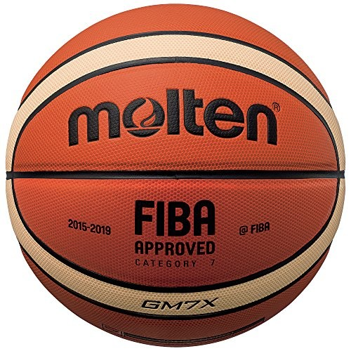 Molten X-Series Indoor/Outdoor Basketball, FIBA Approved - BGMX [Official Size 7]