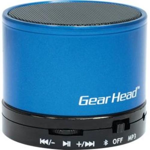Gear Head Portable Bluetooth Wireless Speaker - Blue