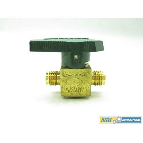 Parker 2F-PR4-VT-B Brass Plug Valve 1//8 NPT Female