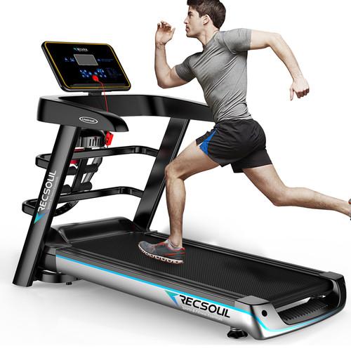 JAXPETY Folding Treadmill Fitness Machine Gym /& Home Electric Motorized Power Treadmill 700W