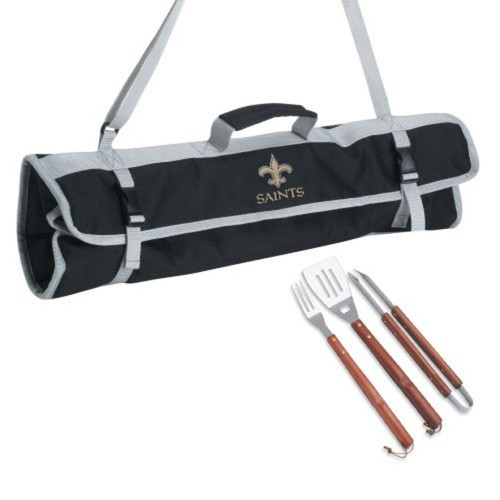 BBQ Arizona Cardinals GRILLING SET w Carrying Case NFL Cooking Tool Tote Bag 4pc