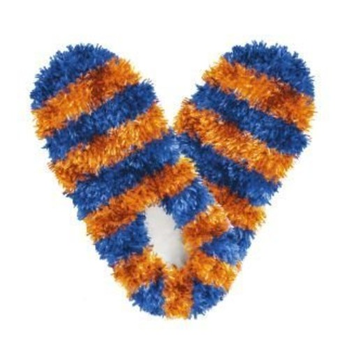 Fuzzy Footies Fanwear Slippers [Blue & G