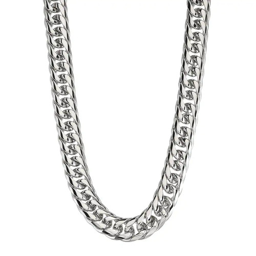 Arrow Jewelry Stainless Steel//Blue IP-Plated 24 Chain Two-Tone Cable Chain Necklace 6.25mm